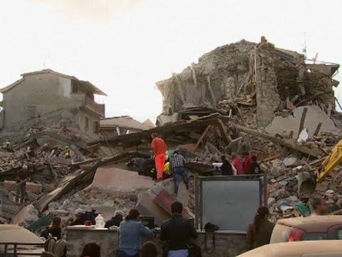 Raw: Dozens Dead in Italy Earthquake