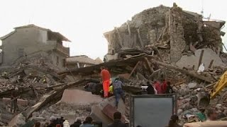 Raw: Dozens Dead in Italy Earthquake