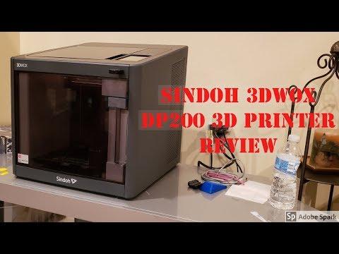 AlexDoesAReview: Sindoh 3dWOX dp200 3d Printer Review - Honest Review