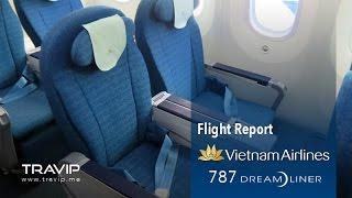Vietnam Airlines Deluxe (Premium) Economy cabin (HAN-SGN) Boeing 787-9 Dreamliner