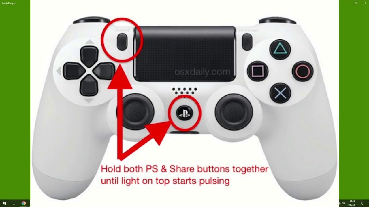 Ps4 Controller Pc Verbinden