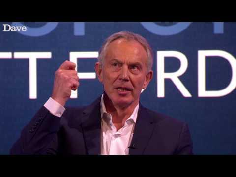 Tony Blair Impersonates an Italian Prime Minister