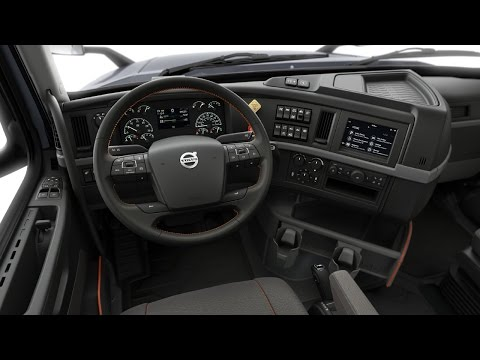 Volvo Trucks - Volvo VNR Walk Around Interior