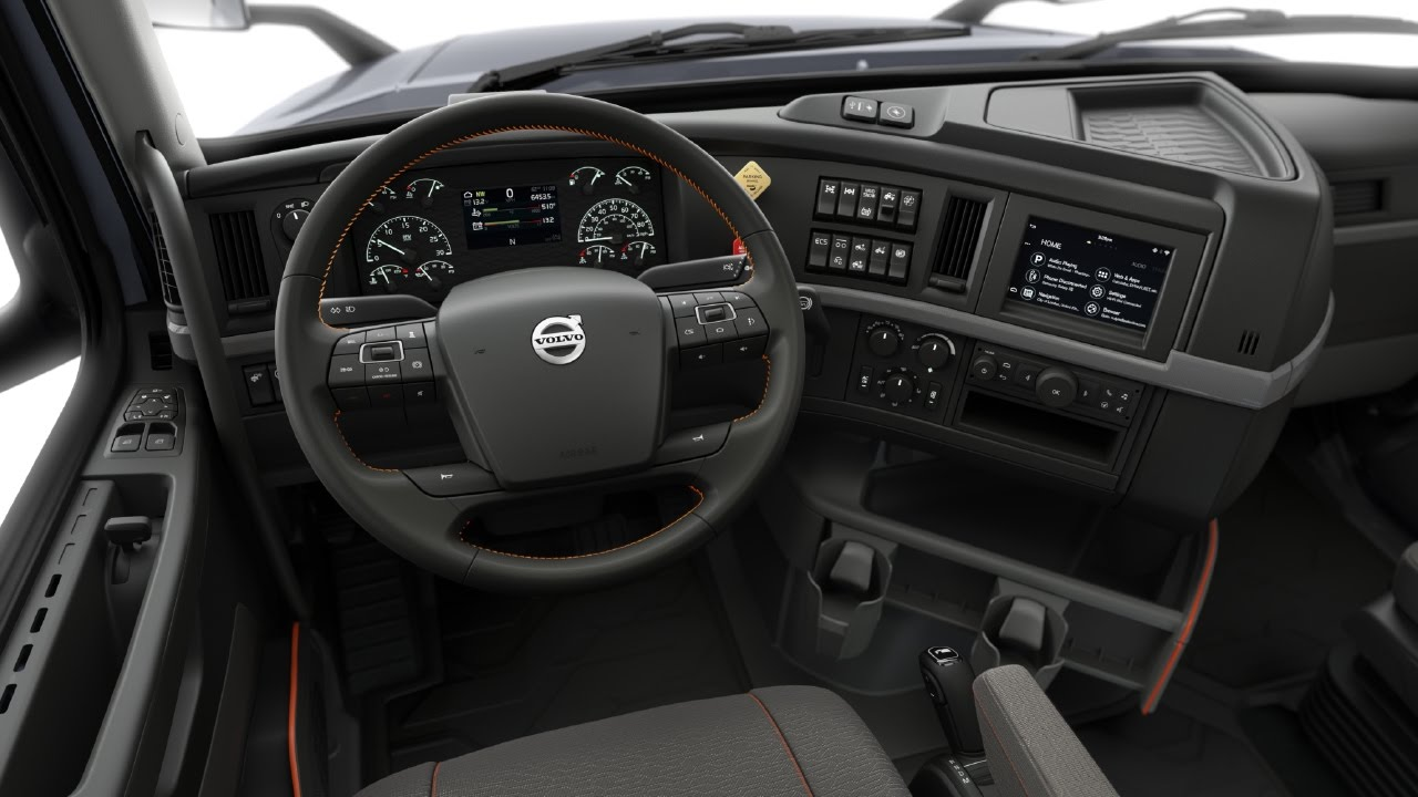 Volvo Trucks - Volvo VNR Walk Around Interior - YouTube