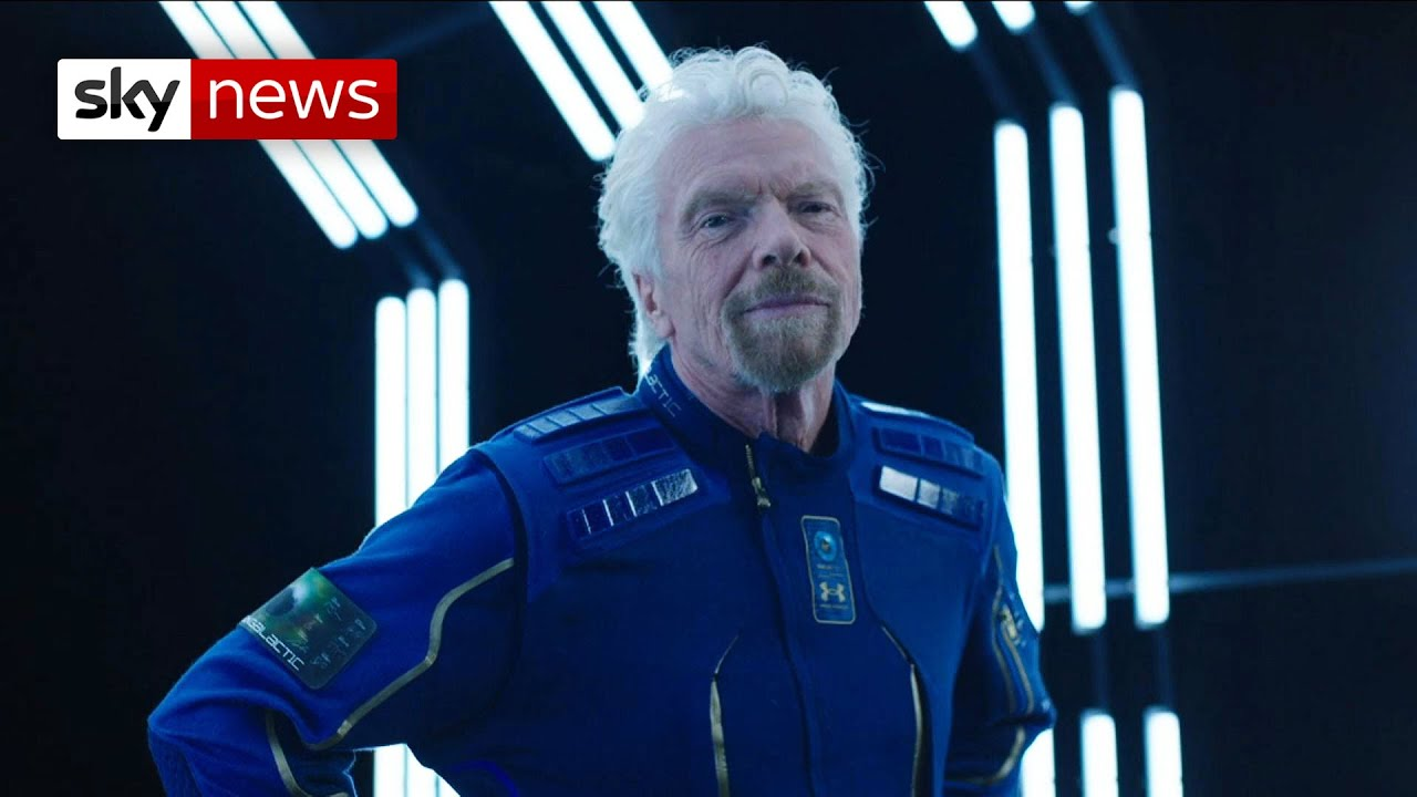 Richard Branson reveals spaceflight details, thoughts on ...