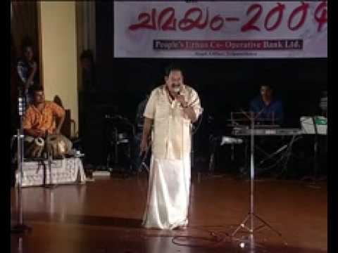 V D Rajappan on Stage - Malayalam Parody