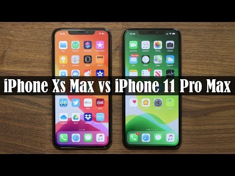 IPhone Xs Max Vs IPhone 11 Pro Max - Full Comparison!