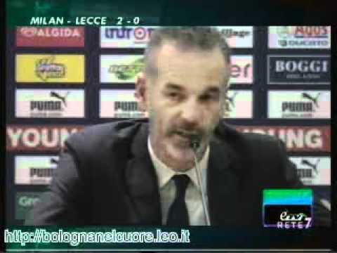 Bologna FC 1909 11/03/2012 Lazio – Bologna 1-3, Pioli in sala stampa