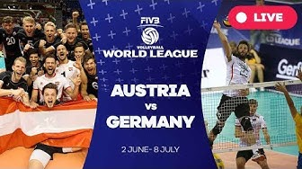 Austria v Germany - Group 3: 2017 FIVB Volleyball World League