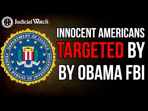 FBI/DOJ CANNOT Be Trusted to Investigate Obamagate Corruption