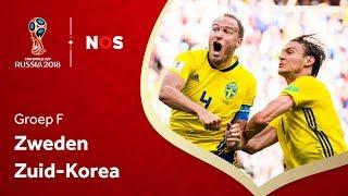 WK voetbal 2018: Samenvatting Zweden - Zuid-Korea (1-0)