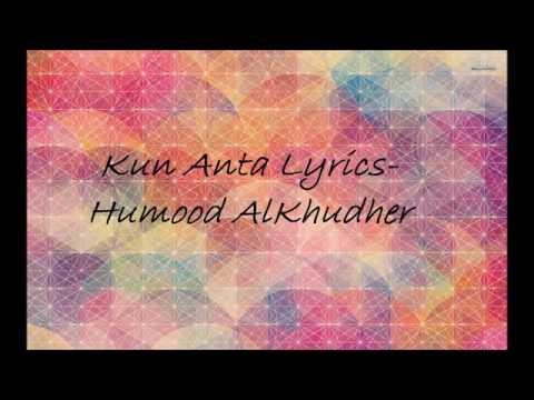 Lagu Kun Anta Versi Arab