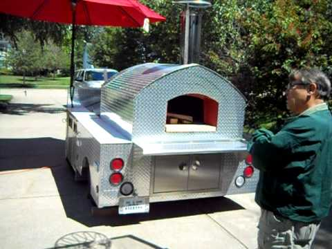 Wood Fired Pizza Catering Trailer