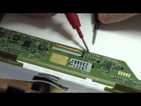 Ремонт дисплея ноутбука. Нет LED подсветки на LCD матрице.
