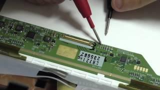 Ремонт дисплея ноутбука. Нет LED подсветки на LCD матрице.(В этом обучающем видео показан ремонт ЖК матрицы ноутбука, а точнее - ремонт LED подсветки на LCD матрице со..., 2015-04-29T20:34:34.000Z)