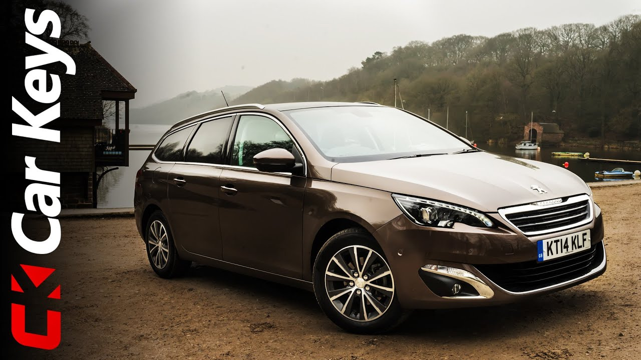 peugeot 308 sw 2015 review - car keys - youtube