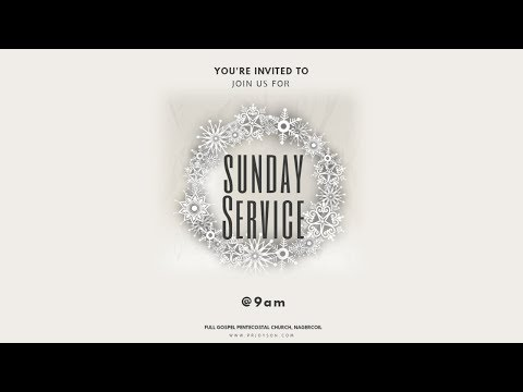 SUNDAY SERVICE (25-11-2018) | FGPC NAGERCOIL