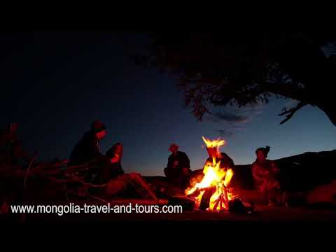MONGOLIA TRAVEL - Nomadic songs by the campfire