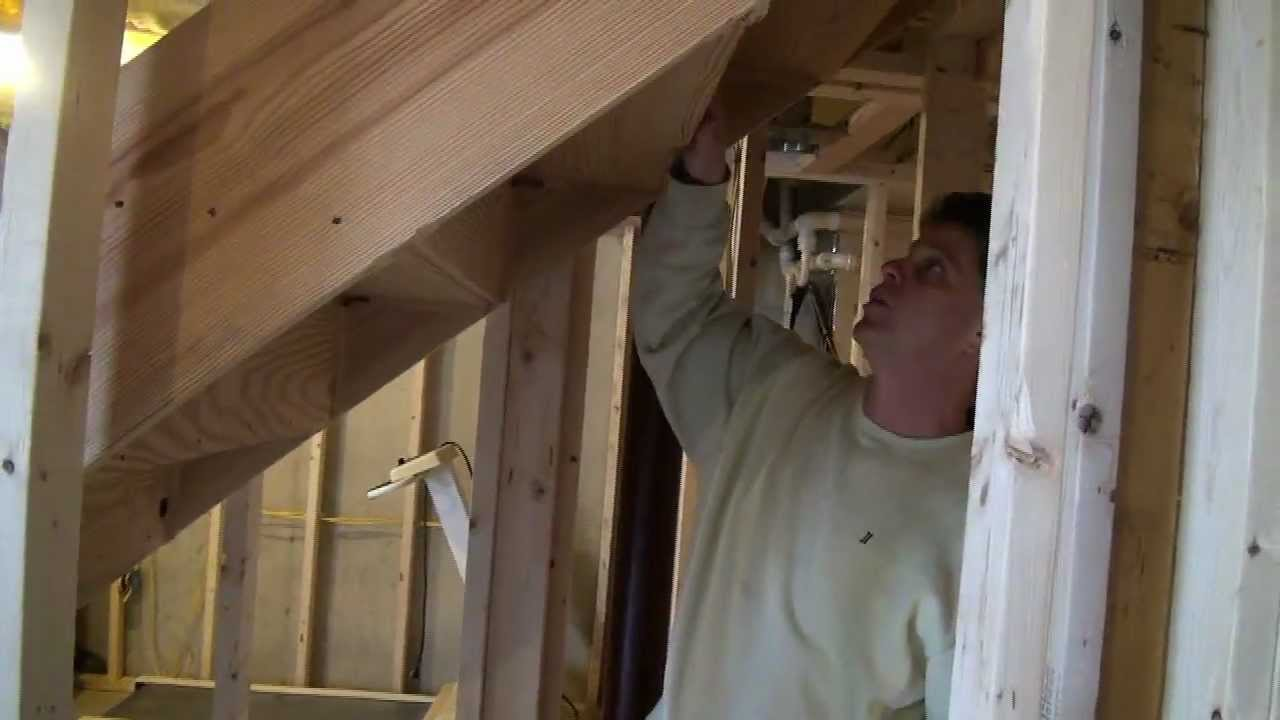 Closet under the basement stairs idea youtube for How to build a walk in closet step by step