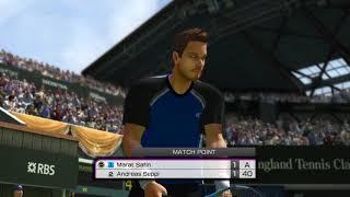 Virtua Tennis 4 Play Arcade mode using Marat Safin