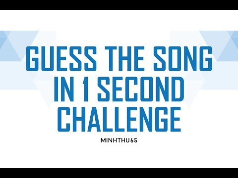[PRODUCE 101] GUESS SONG IN 1 SECOND CHALLENGE !!