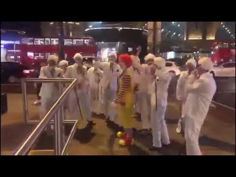 KFC Ultras Kidnapping Ronald MCdonald
