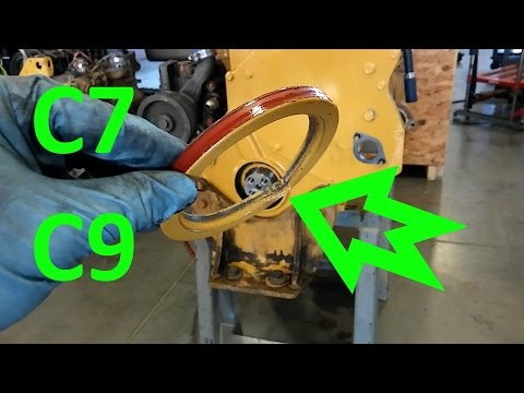 How To Install A Front Main Seal On Cat 3126, C7, and C9 Diesel Engines.