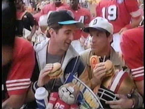 McDonald's Superbowl Fans without Tickets 1995 Commercial