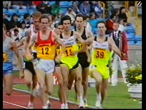 AAA champs 1500 Coe v Ovett + interviews - 1989