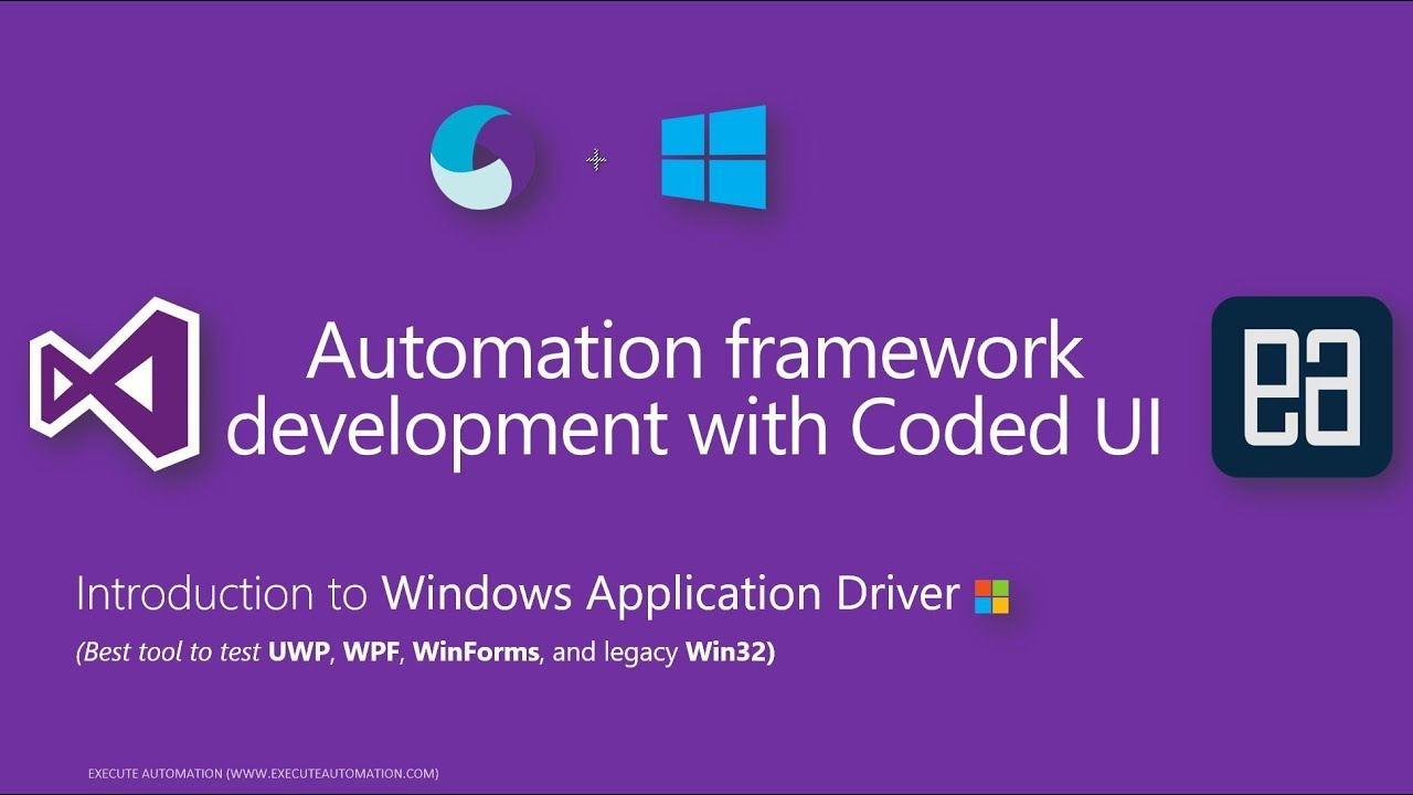 Introduction to Windows Application Driver an Selenium like tools for  Window app automation