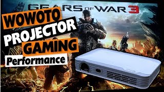 Projectors for Gaming: Wowoto H8/H9/T8e Xbox One Gaming Performance Test