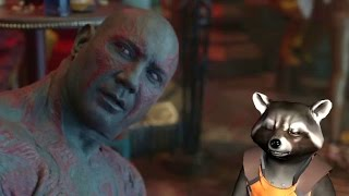 GUARDIANS OF THE GALAXY Deleted Scene - Drunk Drax (2015) Marvel Movie HD
