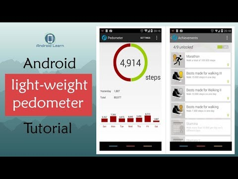 How To Make Light-weight Pedometer App In Android Studio