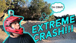 Swifty MTB Adventures - EXTREME DOUBLE CRASH!!!