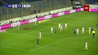 УПЛ | Чемпионат Украины по футболу 2021 | Днепр-1 - Колос - 1:0. Видео гола Игнатенко (22`)