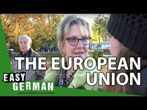 What do Germans think about the European Union? | Easy German 114