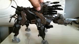 Zoids Customs - Zoid Grand Bison (Killer of Genos)