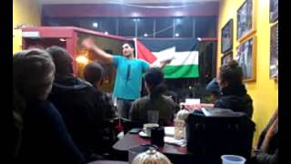 Remi Kanazi @ Mudrakers Cafe in Berkeley