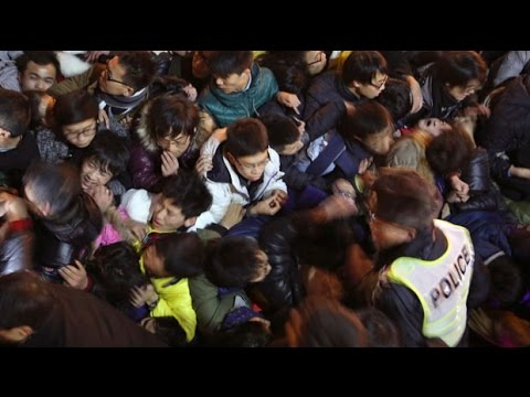 Shanghai stampede leaves dozens of New Year revellers dead