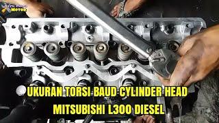 BAGI PEMULA WAJIB TAU UKURAN TORSI DAN CARA PASANG PACKING CYLINDER L300 DISEL#bayuputramotor