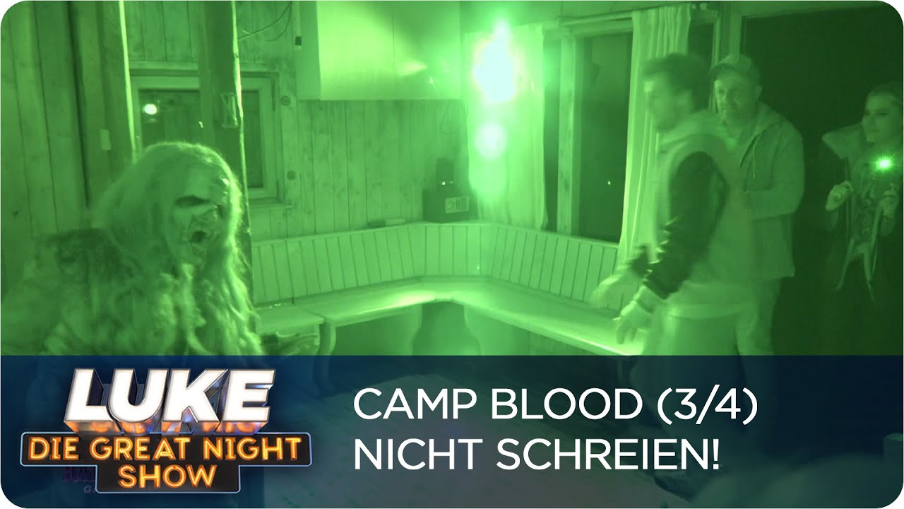Download Horrorcamp statt Dschungelcamp | LUKE! Die Greatnightshow