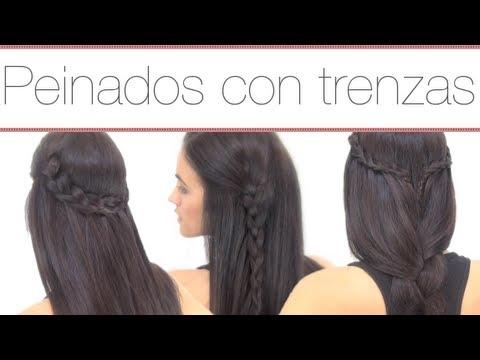 peinados fciles con trenzas youtube