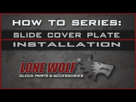 Slide Cover Plate - Lone Wolf Distributors