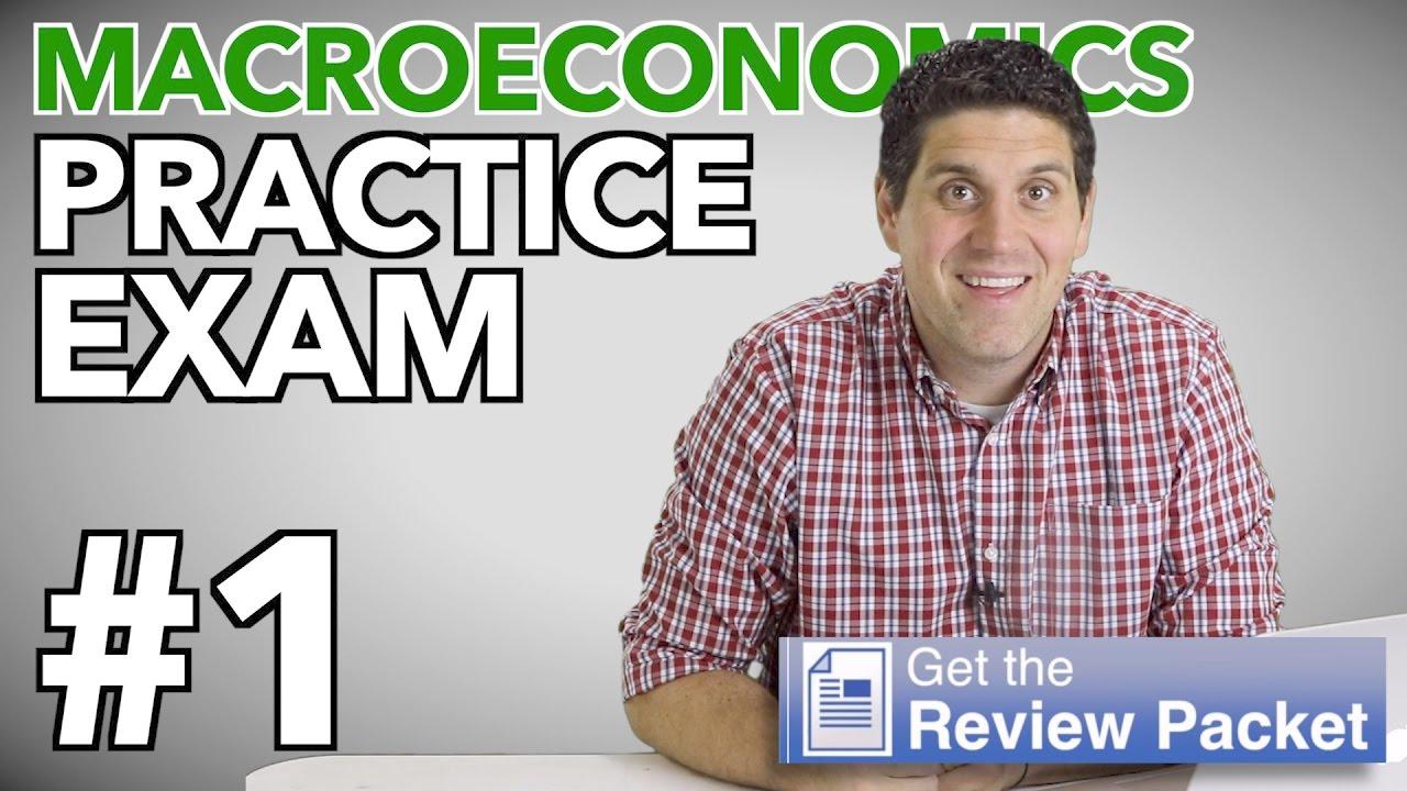 ap macroeconomics practice exam 1 answer key