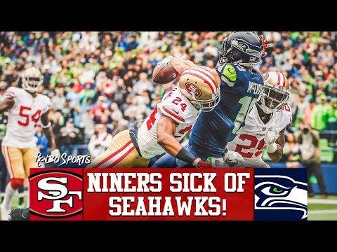 Live! 49ers vs Seahawks NFL 2018 Week 15 Predictions