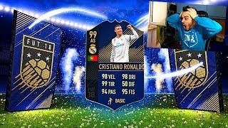 PIU' DI 150 PACCHETTI PER TROVARLO! TOTY PACK OPENING FIFA 18 LIVE