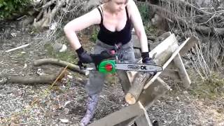 The Best Homemade Chainsaw Horse Ever!
