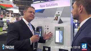 Commend ID5 and OD10 Touch Screen Intercom at ISC West 2019