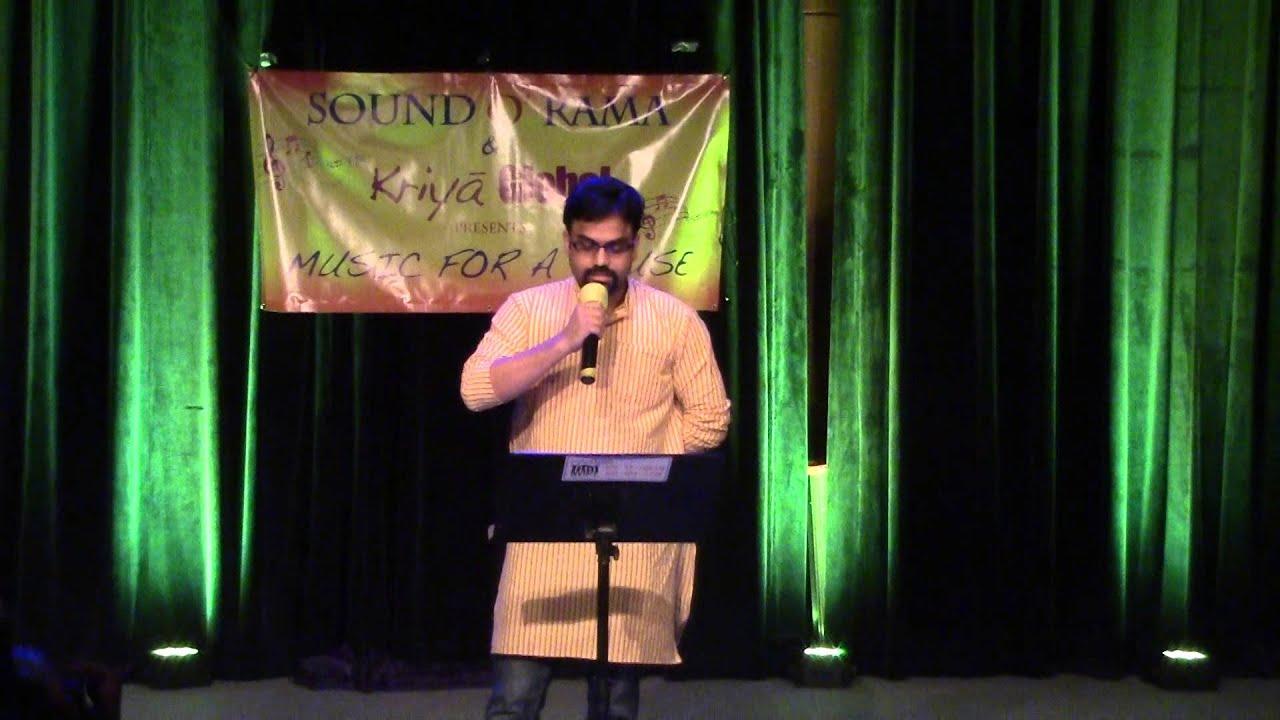 Prabhakar Kota Sings Yesudas Tamil Song Raja Raja Cholan At Music