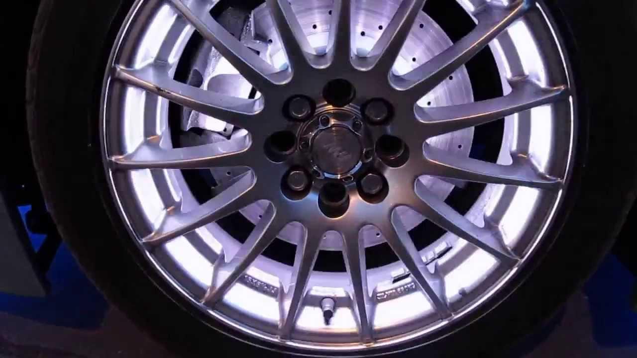 Подсветка дисков ВАЗ-2110